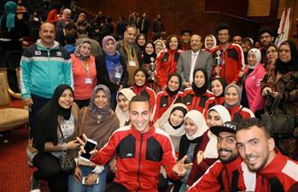 رئيس جامعة طنطا: أسبوع شباب الجامعات يشعل روح المنافسة بين الطلاب في الإبداع | صور