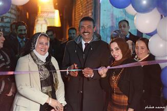 افتتاح فرع جديد لنقابة العاملين بالري والصيد في عزبة البرج | صور