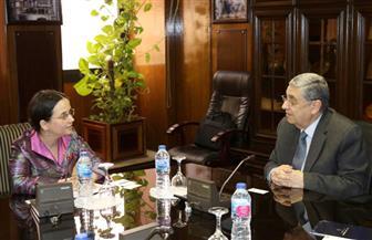 تفاصيل لقاء وزير الكهرباء مع نائب وزير الخارجية الروماني | صور