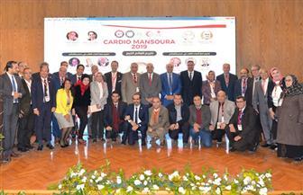 افتتاح المؤتمر الدولي السنوي لأمراض القلب والأوعية الدموية بجامعة المنصورة | صور