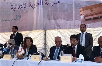 افتتاح مدرسة ابتدائية في إمبابة بحضور وزيرا التعليم والتضامن