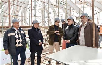 رئيس شركة المقاولون العرب يتفقد مشروع إحياء وتحديث مبنى قيادة الثورة |صور