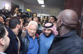 استقبال حافل للمستشار تركي آل الشيخ في الزمالك| صور