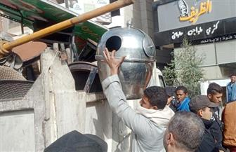 تنفيذ 1214 إزالة إدارية في أحياء القاهرة | صور