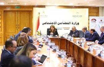 اجتماع لجنة تعديل قانون الجمعيات الأهلية برئاسة غادة والي | صور