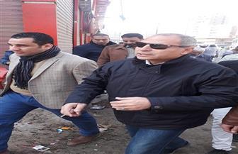 نائب محافظ القاهرة يتابع تطوير محيط محطة مترو المرج الجديدة| صور