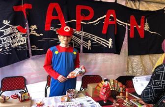 """سفير اليابان بالقاهرة يرتدي زي """"ماريو"""" في مهرجان ايجي كون لألعاب الأنيميشن بالجامعة الأمريكية"""