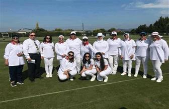 فوز منتخب مصر سيدات ببطولة العالم للكروكيت في نيوزيلندا|صور