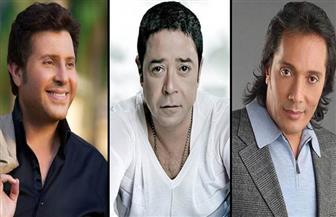 هاني شاكر والحجار ومدحت صالح وريهام عبد الحكيم في مهرجان عيد الحب بالأوبرا