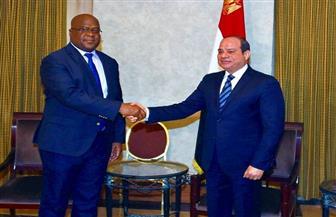 الرئيس السيسي يستقبل نظيره الكونغولي.. ويؤكد: عزم مصر الاستمرار في تقديم كافة أوجه المساعدة لبلاده
