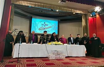بدء الاحتفال بالذكرى السادسة لتأسيس مجلس كنائس مصر | صور