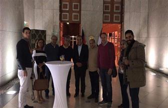 سفير مصر بألمانيا يستقبل الوفد المصرى في مهرجان برلين السينمائي |صور