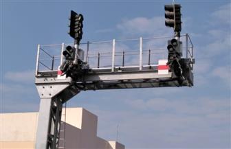 النقل تعلن التشغيل التجريبي لنظم كهربة إشارات برج كفر الزيات| صور