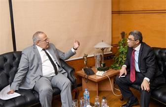 رئيس جامعة القاهرة يبحث الترتيبات النهائية لمؤتمر التعليم فى مصر
