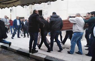العشرات يشيعون جنازة رئيسة روتاري الإسكندرية ضحية قطار رمسيس|صور