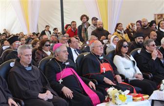 دمياط تنظم احتفالا بمناسبة مرور 100 عام على لقاء القديس فرنسيس بالملك الكامل |صور