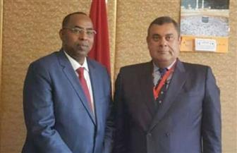 مساعد وزير الخارجية يلتقي مبعوث مفوضية الأمم المتحدة لشئون اللاجئين لمنطقة القرن الإفريقي |صور