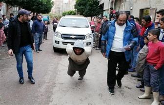 """ختام مسابقة أقوى رجل في قرية """"طبل"""" في دمياط  صور"""