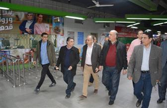 رئيس مترو الأنفاق والعضو المنتدب يتفقدان محطة مترو العتبة بالخطين الثاني والثالث |صور