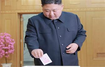 الزعيم الكوري الشمالي كيم جونج أون يدلي بصوته في الانتخابات البرلمانية | صور