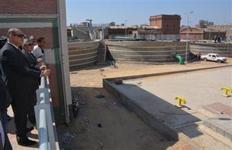 محافظ الغربية يتابع تطوير محطة مياه الجلاء | صور