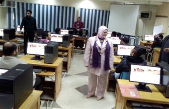 600 مرشح يؤدون الاختبارات لشغل الوظائف المؤقتة بتعليم كفر الشيخ |صور