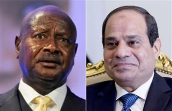 الرئيس السيسي يجرى اتصالا هاتفيا مع نظيره الأوغندي