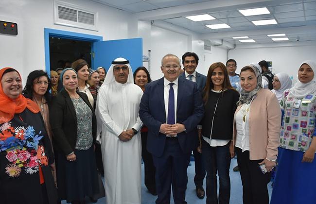 رئيس جامعة القاهرة يفتتح وحدة حديثي الولادة بمستشفي أبو الريش للأطفال بتكلفة 5 ملايين جنيه   صور -
