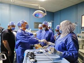 للمرة الأولى في تاريخها.. استئصال ورم سرطاني بالمنظار في مستشفى هيئة قناة السويس