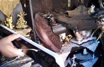 حبس صاحب مصنع الألبان المحترق بالإسكندرية.. وبدء معاينة العقارات المتضررة