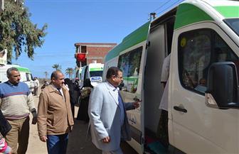 قافلة طبية علاجية لخدمة المواطنين بقرية الشهابية في كفرالشيخ | صور