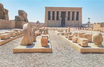 وزارة الآثار تنتهي  من أعمال المتحف المفتوح بمعبد دندرة   صور