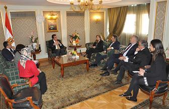 عبد الغفار يبحث دعم التعاون العلمي بين البلدين مع سفيرة البرتغال   صور