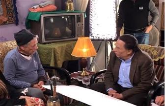 رامي إمام ينشر فيديو للزعيم عادل إمام بعد شائعة الأزمة الصحية