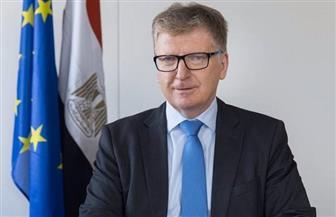 سفير الاتحاد الأوروبي: لدينا التزام كبير تجاه دعم إدارة المياه في مصر