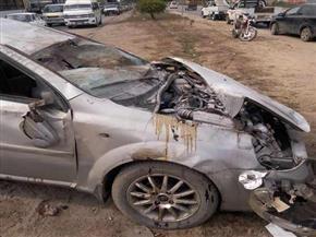 مصرع شخص وإصابة آخر في حادث تصادم بالشرقية