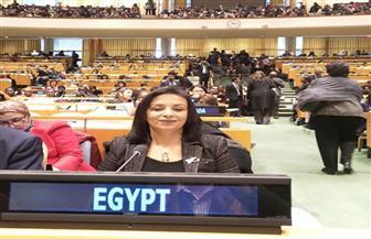 مايا مرسي: الدعم الصحي يصل إلى 10 ملايين امرأة | صور