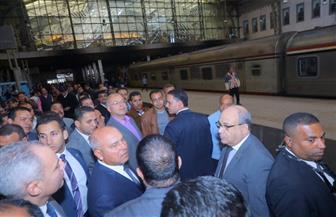 تفاصيل جولة وزير النقل التفقدية بمحطة مصر برمسيس | صور