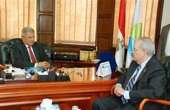 تفاصيل زيارة القائم بأعمال السفير الأمريكي بالقاهرة للشركة القابضة ومحطة روض الفرج