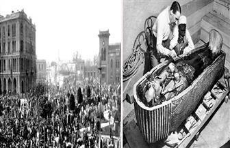 كيف حافظت مصر على ممتلكات الملك توت عنخ آمون من السرقة خلال أحداث ثورة 1919 |  صور