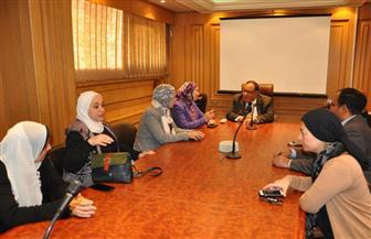 رئيس جامعة حلوان: حصول عدد من الكليات على الجودة يتماشى مع خطتنا في التطوير | صور