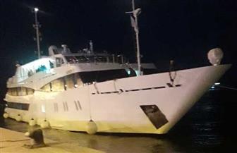 """للمرة الخامسة خلال 2019.. """"هارموني"""" يصل ميناء بورسعيد وعلى متنه 14 سائحا"""