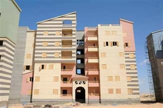 مدينة العلمين تبدأ طلاء مبانيها للحفاظ على الشكل الحضاري