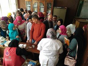 الانتهاء من مسح 2 مليون و130 ألف مواطن بحملة 100 مليون صحة بالشرقية