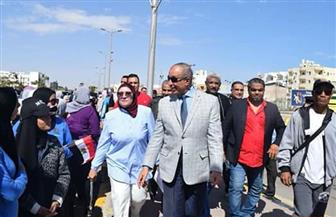 محافظ البحر الأحمر يشهد انطلاق ماراثون رياضي احتفالا بعيد المرأة المصرية | صور
