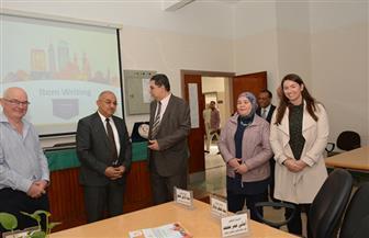رئيس جامعة أسيوط يشهد انطلاق ورشة عمل حول تقييم الطلاب بالبرنامج الطبى الجديد لجامعات الصعيد | صور