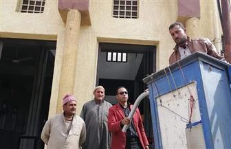 إحلال وتجديد شبكات ومحولات الكهرباء بقرية الرغامة بمركز الرياض كفرالشيخ | صور