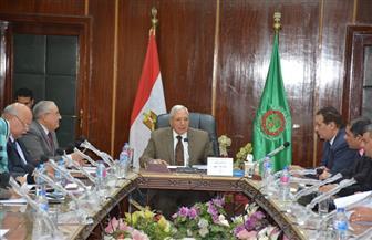 محافظ الدقهلية يبحث تطوير كورنيش جمصة مع الهيئة العربية للتصنيع