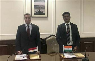 مصر والهند تعقدان الاجتماع الرابع للجنة التجارية المشتركة بين البلدين | صور