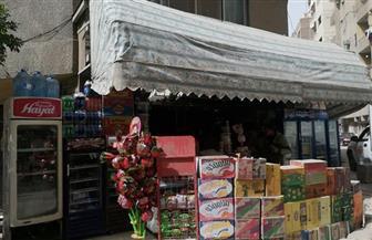 حي العمرانية يشن حملة موسعة لرفع الإشغالات بقطاع الطالبية | صور